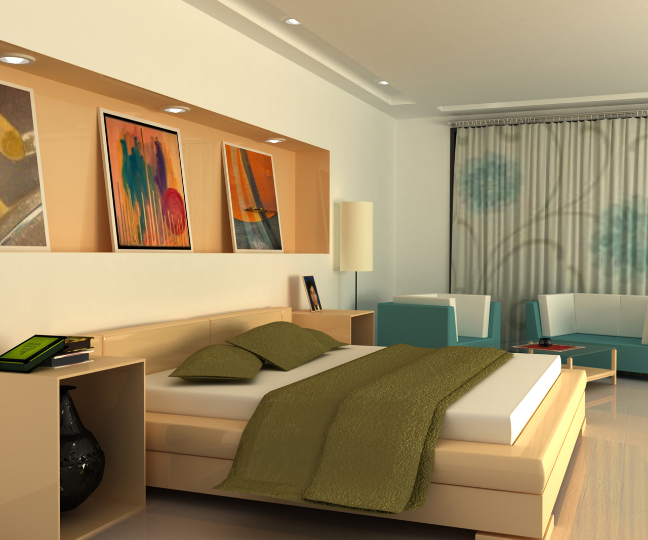 Remarkable 3D Small Bedroom Design 1280 x 1067 · 633 kB · jpeg