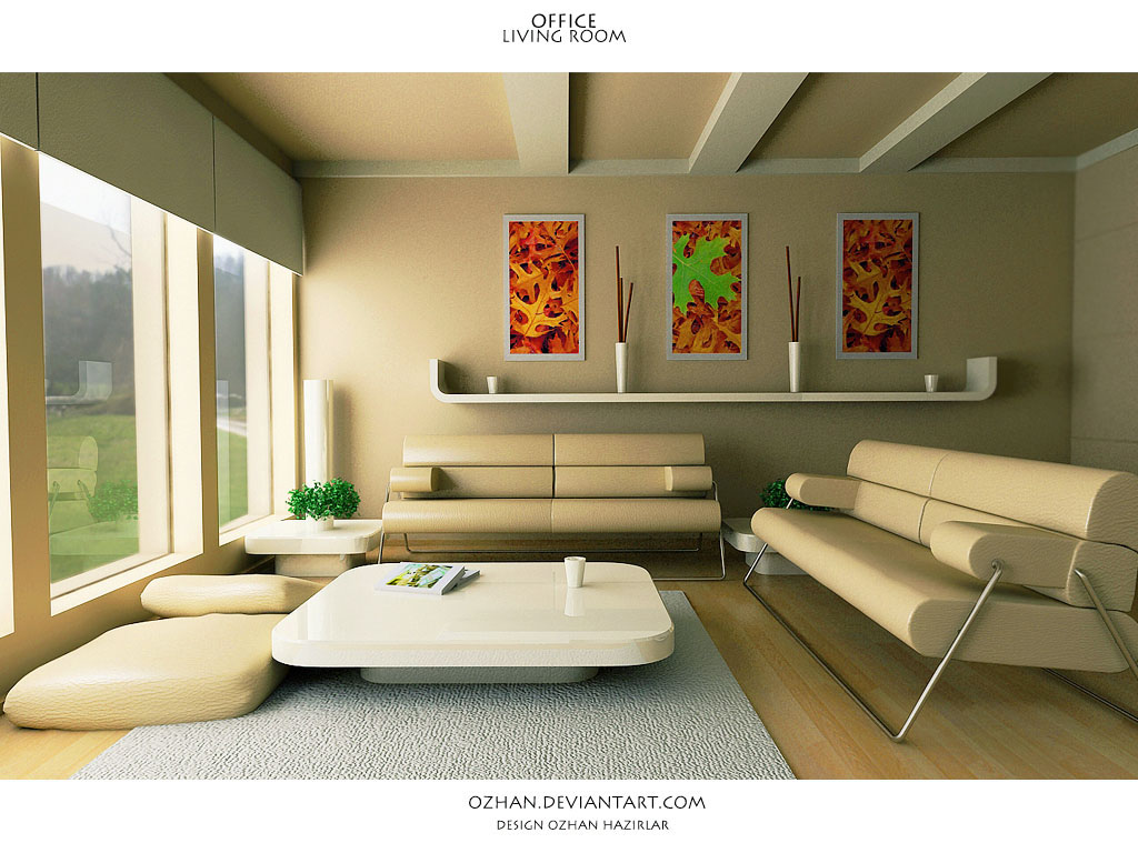 Interior exterior plan office living room space for Living room space